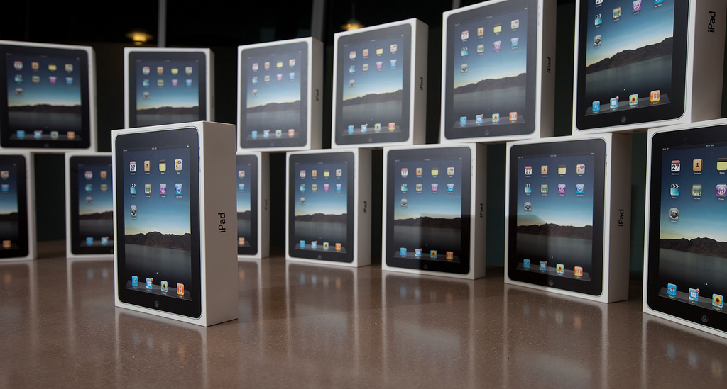 Caixas de iPads