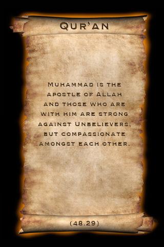 Screenshot do app iSlam Muhammad