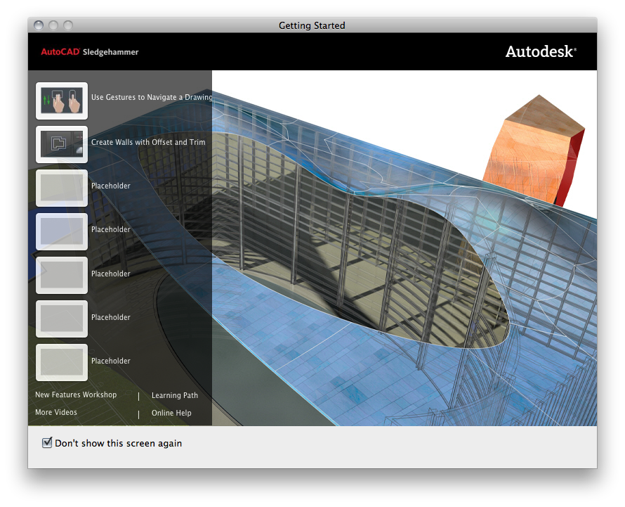 AutoCAD no Mac OS X