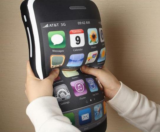 iCushion, travesseiro de iPhone
