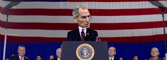 Steve Jobs como novo governante dos EUA
