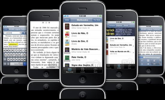 Melbooks em iPhones