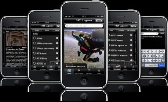 Guia Quatro Rodas 1001 Lugares em iPhones