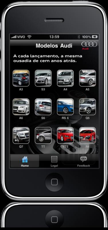 Audi Brasil no iPhone