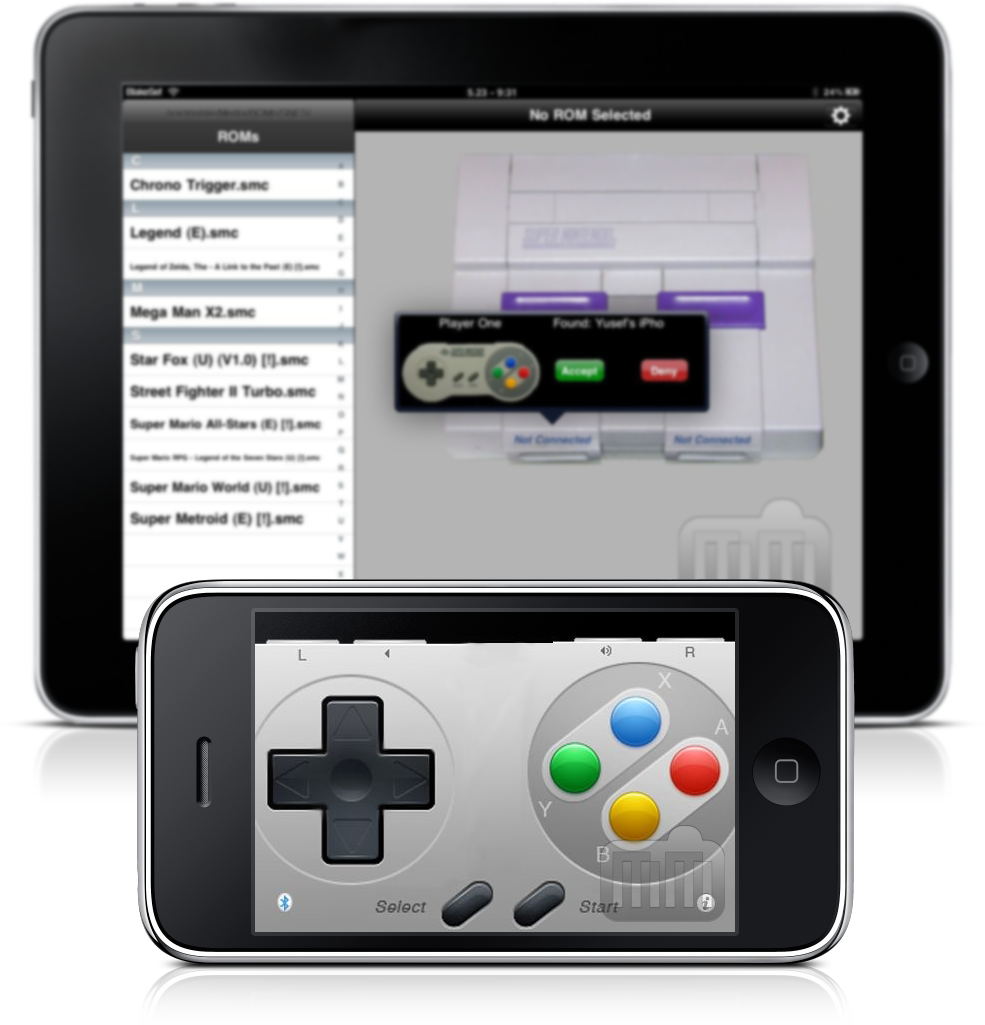 SNES (HD) no iPad/iPhone
