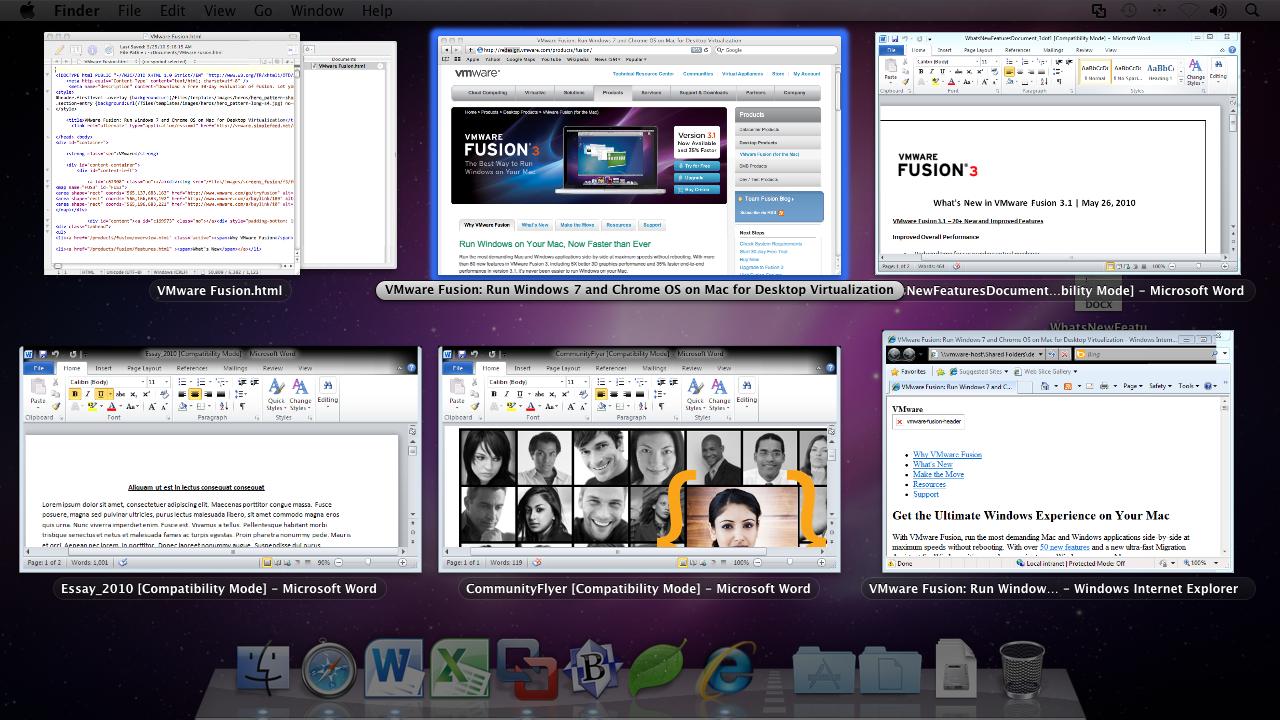 VMware Fusion 3.1 no Mac