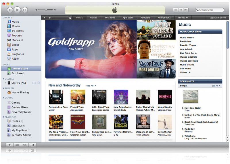iTunes Store, da Apple