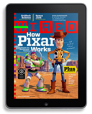 WIRED Magazine no iPad