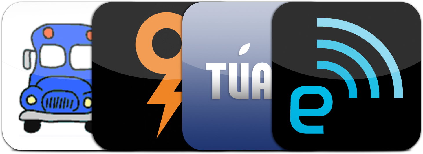 Ícones de apps de veículos