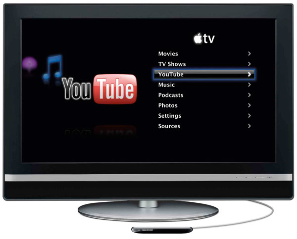 Novo Apple TV com iPhone OS?