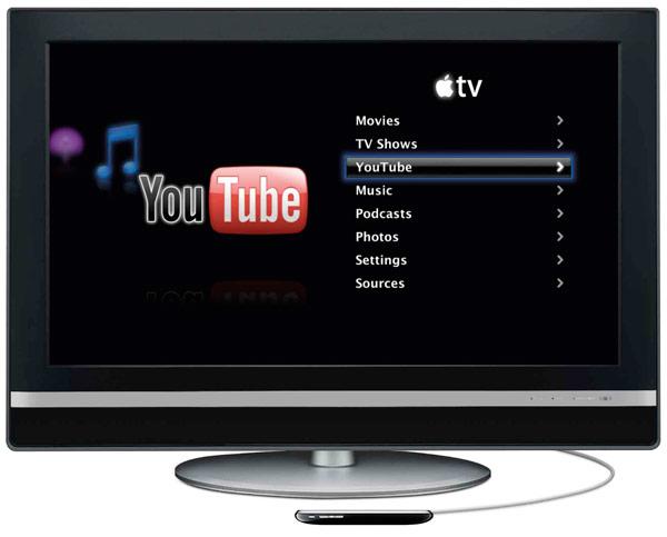 Novo Apple TV com iPhone OS?