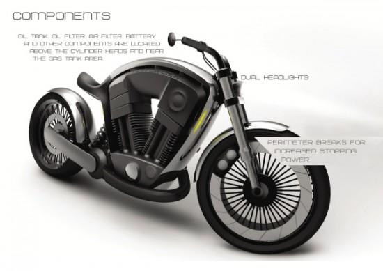 Moto Harley-Davidson projetada pela Apple?