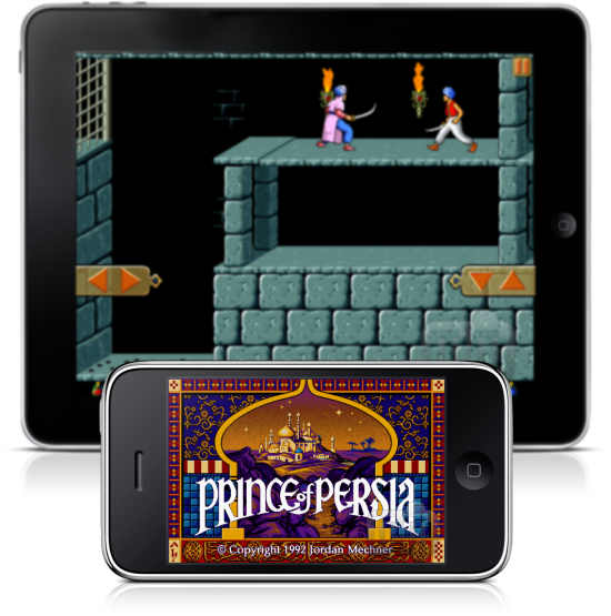 Prince of Persia Retro no iPhone e iPad