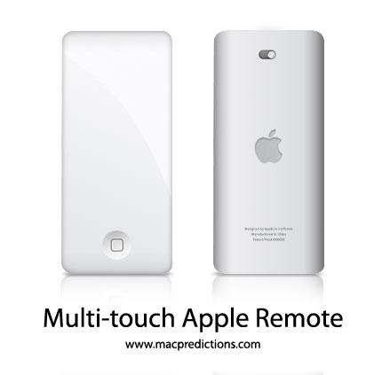 Multi-touch Apple Remote