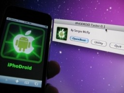 iPhoDroid, Android no iPhone