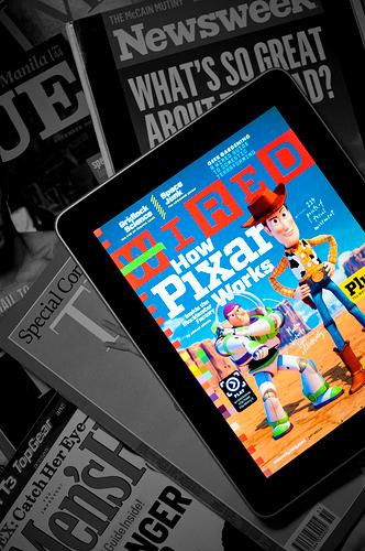 Revistas/WIRED no iPad