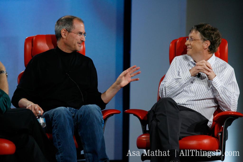 Steve Jobs e Bill Gates na D5: All Things Digital