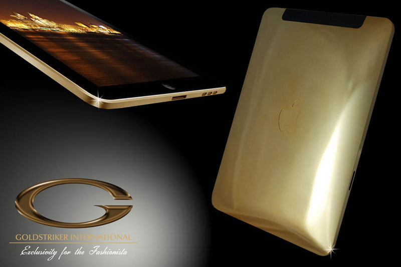 iPad de ouro da Goldstriker