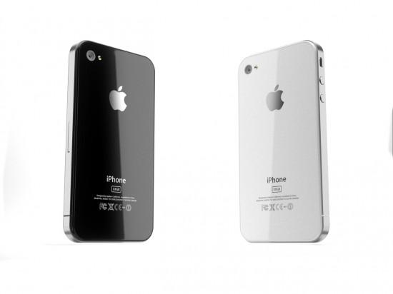 Render 3D do iPhone de quarta geração
