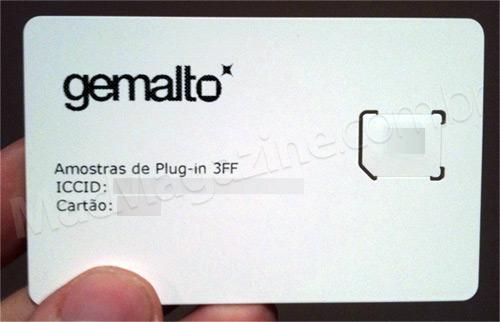 Chip Micro-SIM da Vivo para iPad