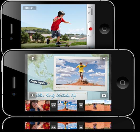 iMovie para iPhone 4