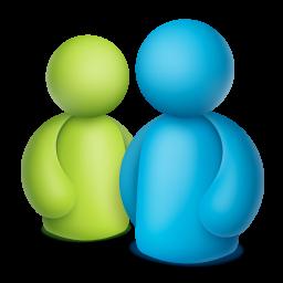 Ícone do Microsoft Messenger para Mac