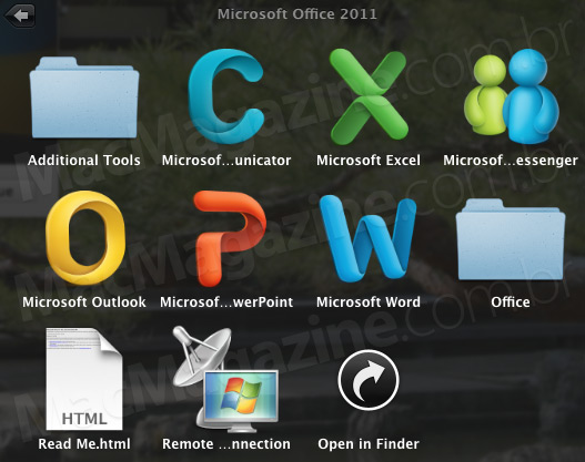 Microsoft Office 2011 Beta 4 para Mac