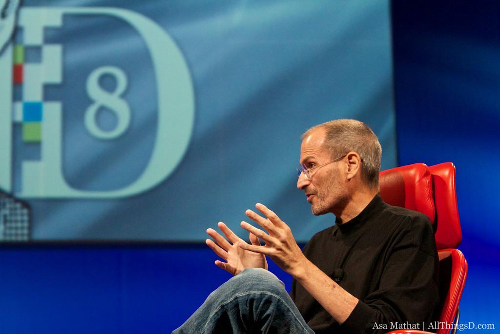 Steve Jobs na D8: All Things Digital