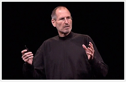 Steve Jobs na keynote da WWDC 2010