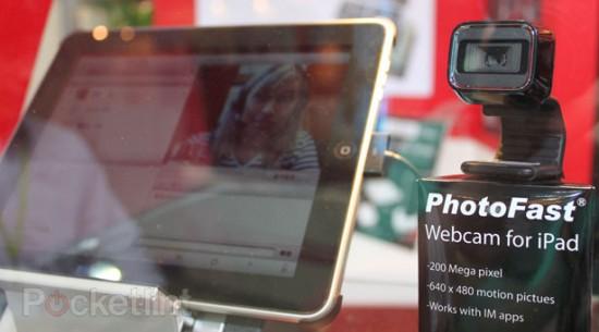 Webcam da Microsoft com iPad