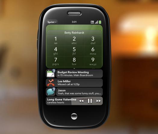 Notificações do Palm Pre (webOS)