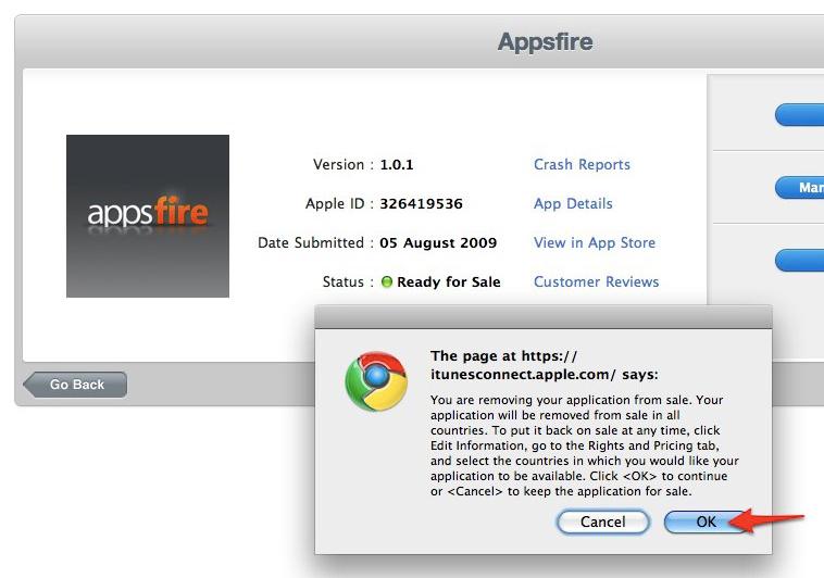 Appsfire removido da App Store