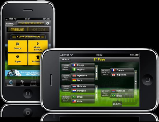 Copa do Mundo 2.0 em iPhones