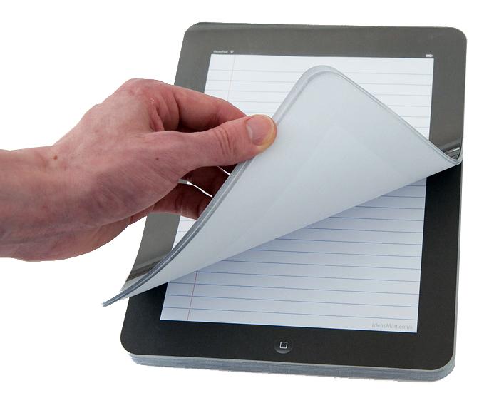 iNotePad, bloco de anotações de iPad