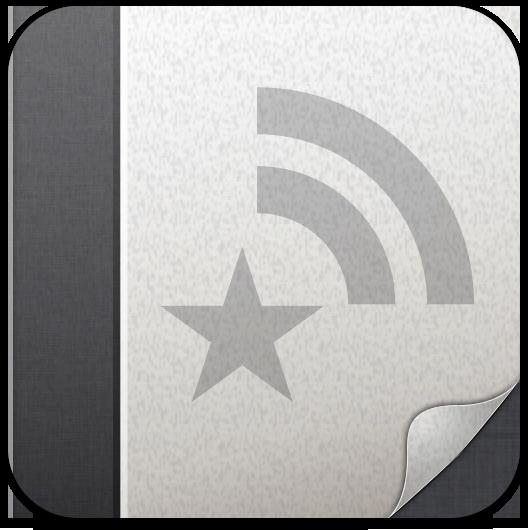 Ícone do Reeder para iPads