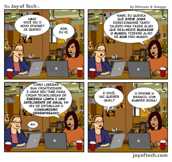 Joy of Tech - Ja deu, por favor realmente mude o mundo
