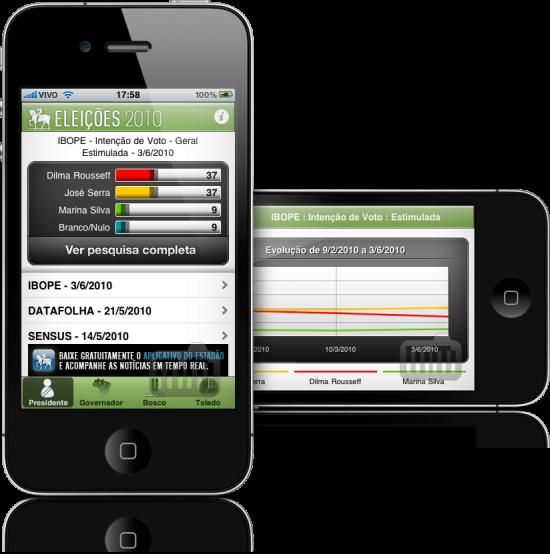 Eleições 2010 – Estadão.com.br em iPhones