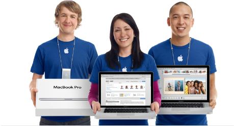 Geniuses de Apple Retail Stores