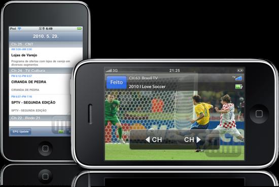 Tivizen em iPod touch e iPhone