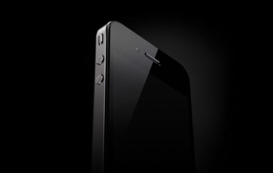 iPhone 4 no escuro, sombrio