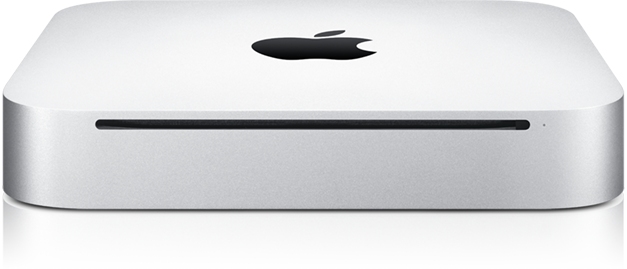 Mac mini de frente