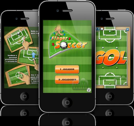 Finger Soccer em iPhones