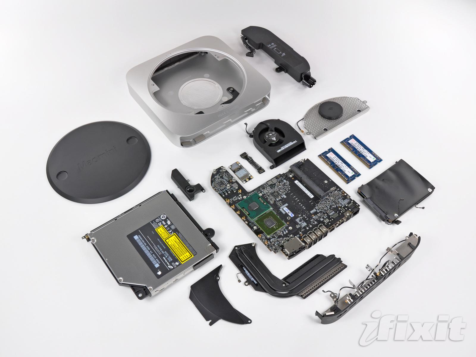 Novo Mac mini desmontado pela iFixit