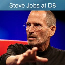 Steve Jobs na D8