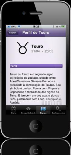 Horóscopo Diário no iPhone