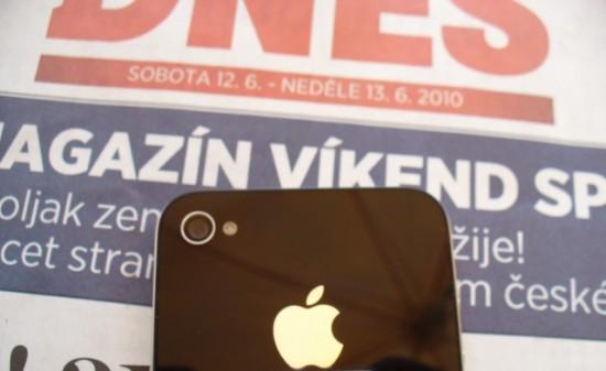 iPhone 4 na República Checa