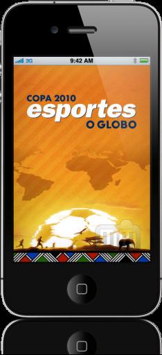 O Globo-Copa no iPhone