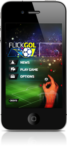 FlickGol no iPhone