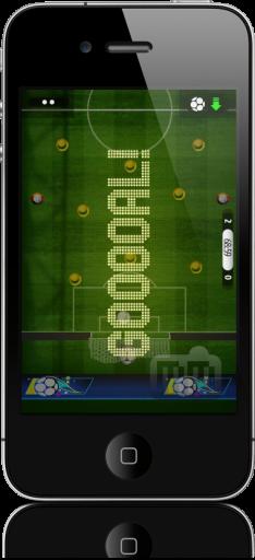 FlickGol no iPhone