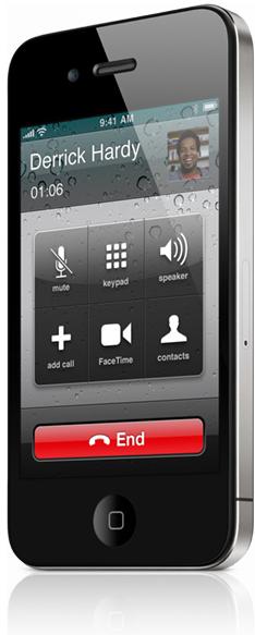 Ligação no iPhone 4